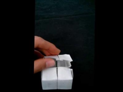 Paper Puzzle Box Concept