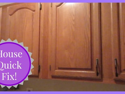 Quick Fix DIY House Update! Cabinet Pull Handles!