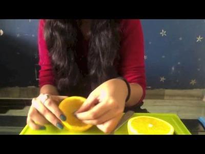 Smart Art Orange Candle DIY!