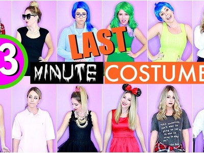 13 Last Minute DIY Halloween Costumes