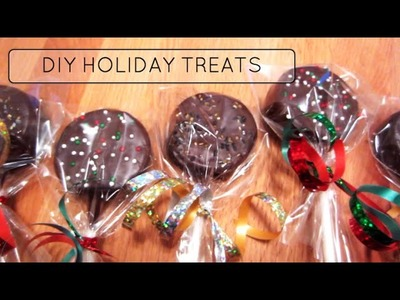 3 EASY DIY HOLIDAY TREATS!