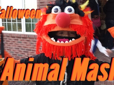 DIY Animal Muppet Mask - Homemade!