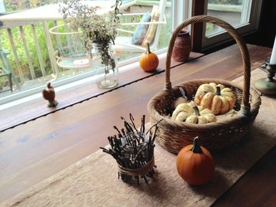 "DIY: Autumnal Prelude ""rustic decorating"""