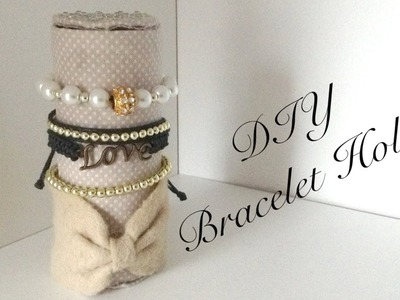 DIY Bracelet Holder Let´s Organize