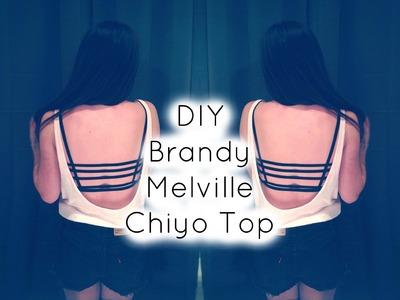 ♡DIY Brandy Melville Chiyo Top♡