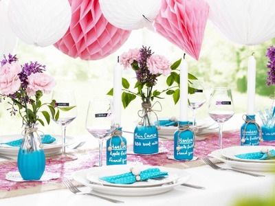 DIY by Panduro: Summer tablescapes