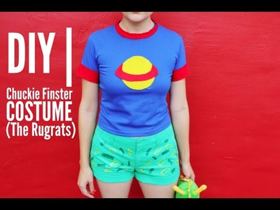 DIY | Chuckie Finster From The Rugrats Costume