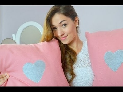 ♡ DIY: Cute and romantic pillows ♡