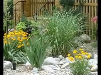 DIY decorating Ideas for Small rock garden