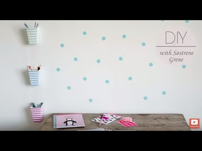 DIY: Desk organizer by Søstrene Grene