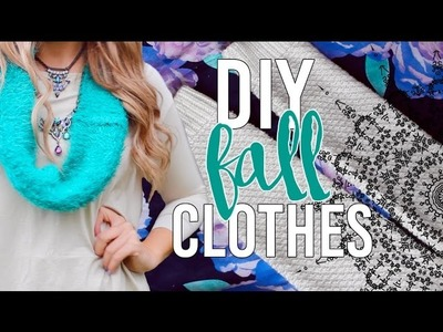 DIY Fall Clothes From Old Sweaters | Tumblr Inspired