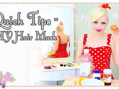 DIY Hair Mask Recipe  - Quick Tips - Violet LeBeaux