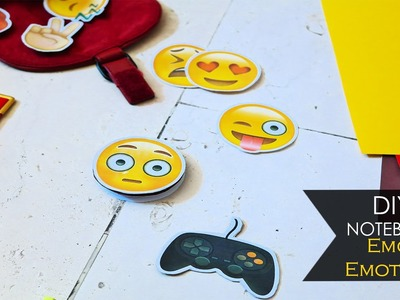 DIY Notebook ☻ Emoji | Emoticon