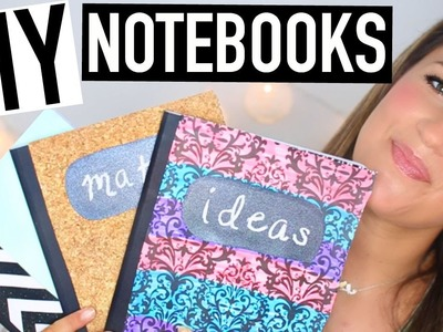 DIY Notebooks For Back To School + Giveaway!