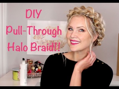 DIY Pull-Through Halo Braid!!