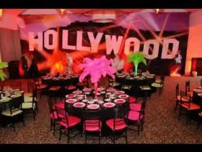 DIY Red carpet party decorating ideas
