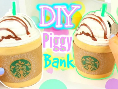 DIY Starbucks Piggy Bank! Make Your Own Piggy bank!