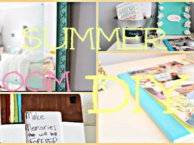 DIY Summer Room Decor ☀