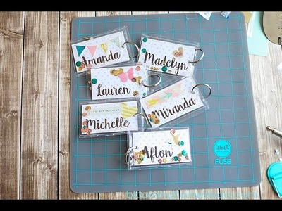 DIY Tags using The Fuse by We R Memory Keepers