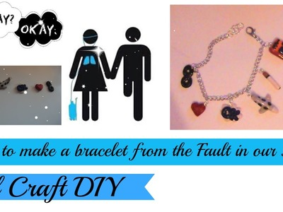 DIY.The Fault in our Stars Bracelet!