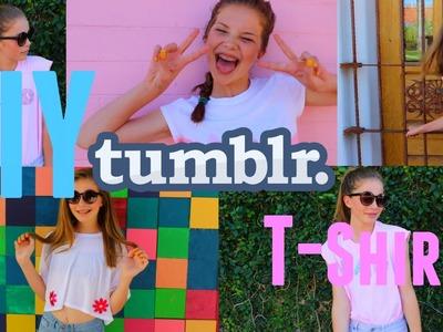 DIY Tumblr Inspired T-shirts!