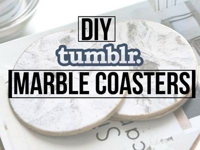 DIY Tumblr Marble Coasters | DaynnnsDIY