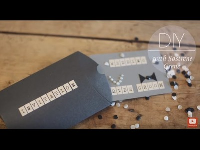 DIY: Wedding invitation by Søstrene Grene