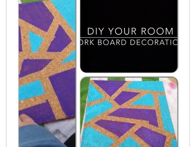 DIY Your Room: Cork Board Decorations
