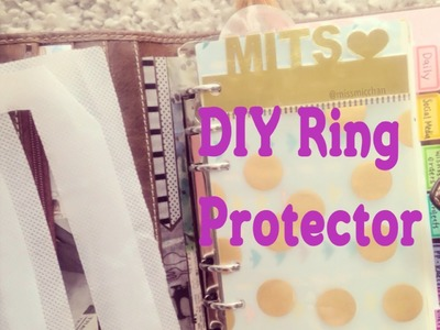 Easy DIY Ring Protector for Your Planner