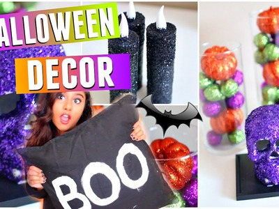 Easy & Fun DIY Halloween Decor! Affordable Room Decorations 2015