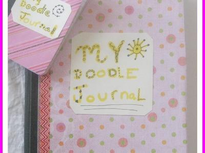 How make a Doodle Journal. DIY Doodle Journal