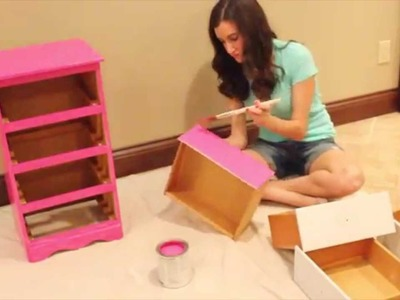How To Paint Furniture | DIY Painted Nightstand