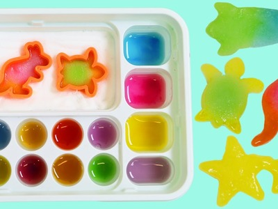Kracie Popin Cookin' Oekaki Gummy Land Japanese DIY Candy Kangaroo Star Dolphin Rocket Shapes!