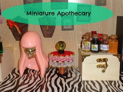 Miniature Potions Room Tour - DIY LPS Crafts & Doll Stuff