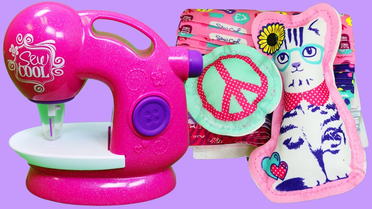 Sew Cool Glitter Deluxe Sewing Studio Playset   DIY Design, Stitch, and Decorate Your Own Projects!