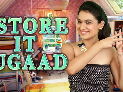#StoreItJugaad ( Easy & Cool Room Decor and Organisation)   #Jugaad   DIY