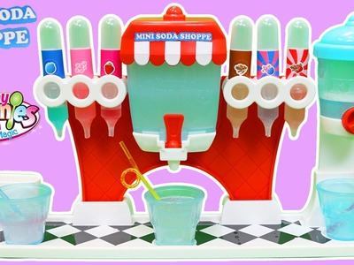 Yummy Nummies Mini Kitchen Magic Soda Shoppe Maker Playset Easy DIY Make Your Own Soda Pop!