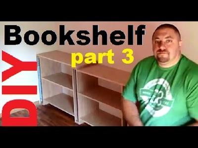 DIY 3.0 Build Hardwood Bookshelves, Book Cases, Entertainment Center, Storage Shelves, Utility Shelf
