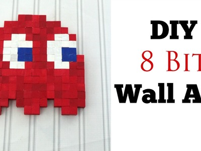 DIY 8 Bit Wall Art!   Nerdy Crafts!
