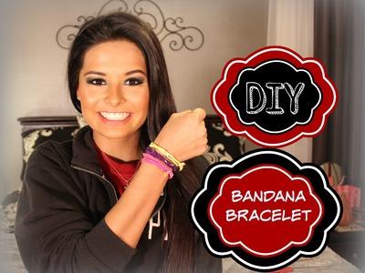 DIY Bandana Bracelet | Madison Danielle