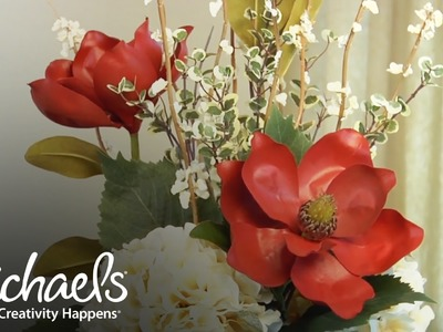 DIY: Beginners Guide to Floral Arrangements | Michaels