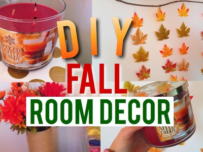 DIY fall room decor 2015!