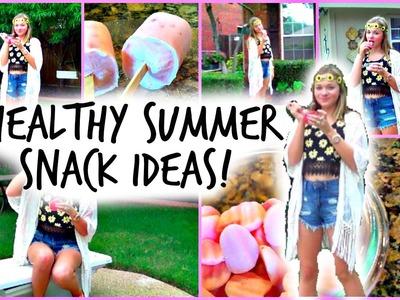 DIY Healthy Summer Snack Ideas!!