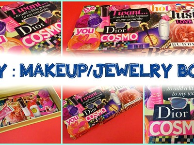 DIY : Makeup.Jewelry Box!