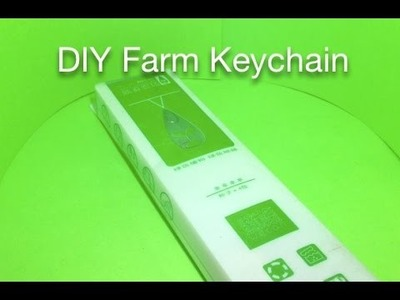 DIY Mini Farm Keychain