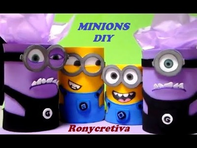 DIY MINIONS CONFECTIONER-PENCIL HOLDER (2)