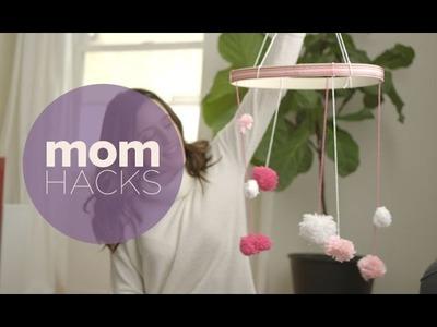 DIY Pom Pom Mobile