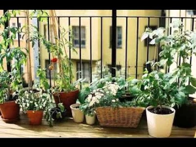 DIY Small balcony garden ideas
