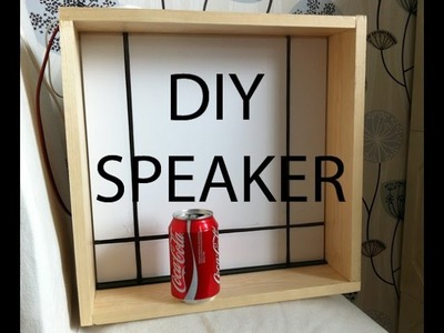 DIY speaker woofer subwoofer scratch build Part 1