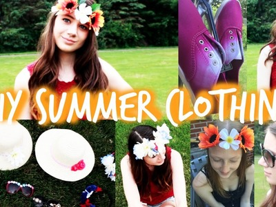 DIY Summer Clothing Sunglasses, Hats, Flower Crowns+